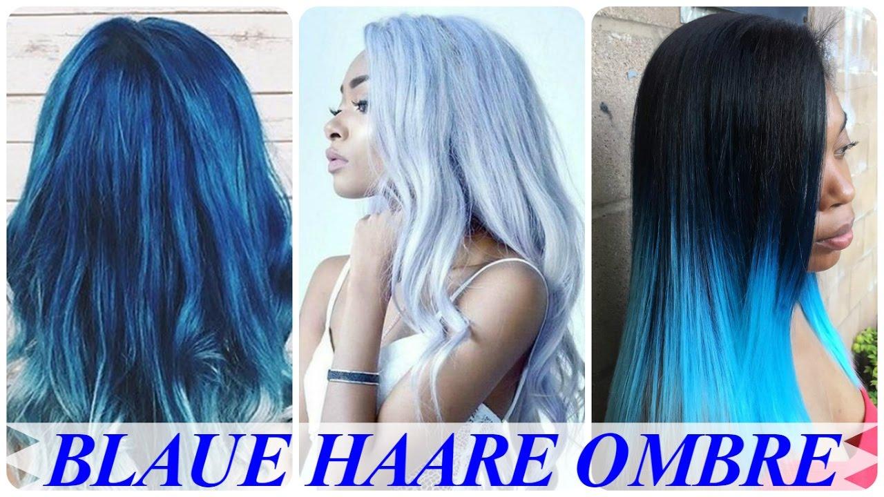 Spitzen mit dunkelbraune haare blauen Strähnchen: Farbnuancen,