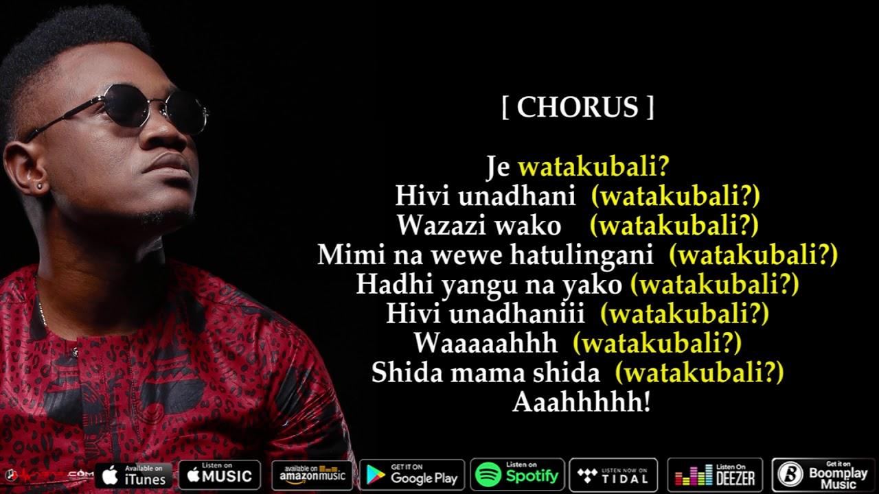 Mbosso Song Lyrics | MetroLyrics