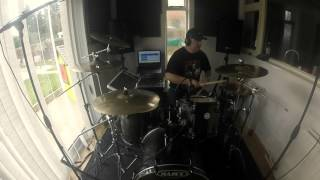 Fruity presents . REM the one i love Drum cover