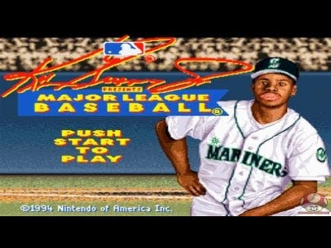 buy popular e3bd1 308bf Ken Griffey JR SNES White sox season part 1