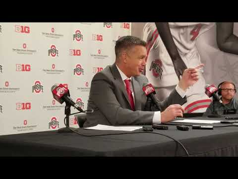 Watch Ohio State head coach Chris Holtmann's Iowa postgame press conference