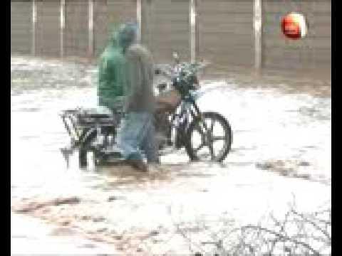 Heavy rains in Samburu County leaves several places flooded
