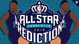 Predicting the 2019 NBA All Star Game Players