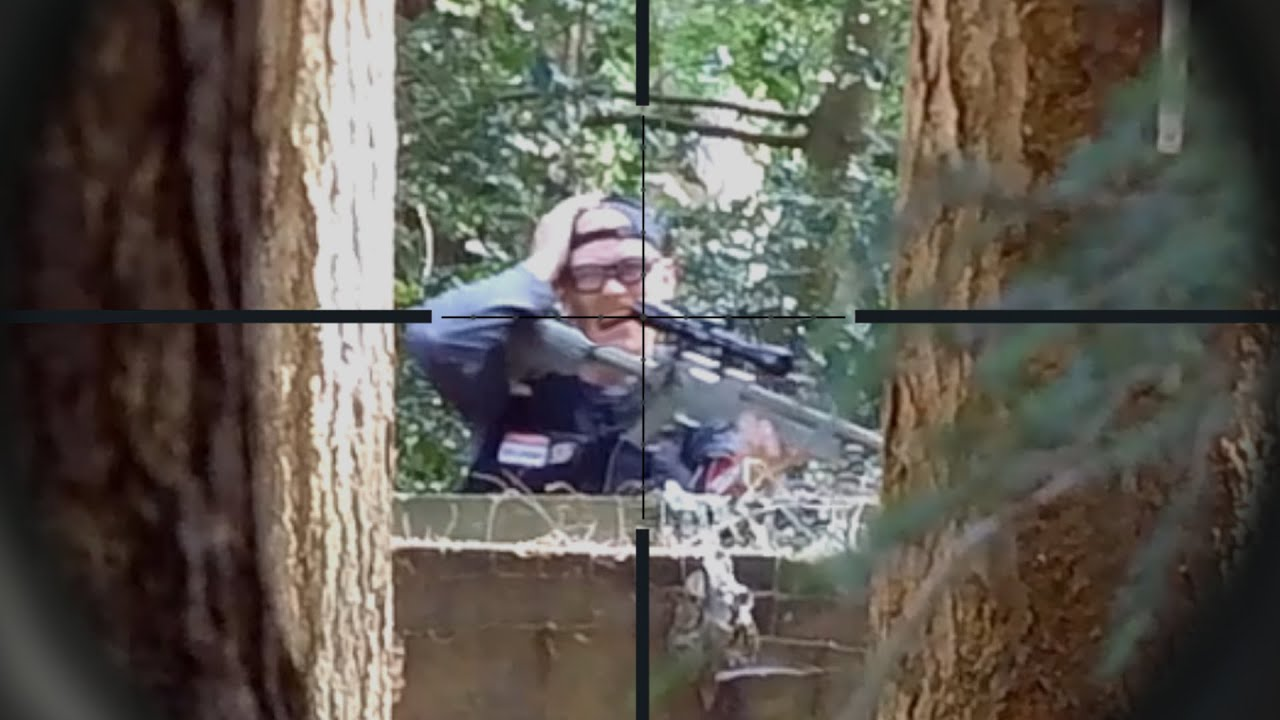 Classic Sniper Takedowns (Airsoft) (Part 2) #Shorts