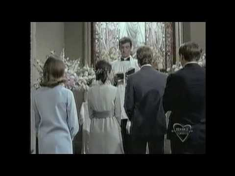 Peyton Place  Rodney Ryan O'Neal and Betty Barbara Parkins marry  wedding ceremony