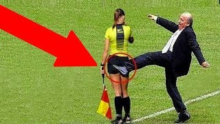 10 FUNNY MOMENTS WITH REFEREES IN SPORTS