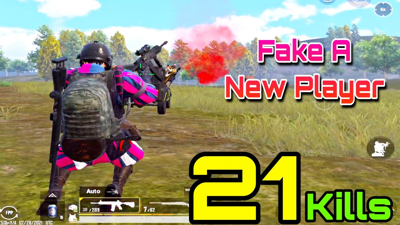 They Call Me Hacker ? Disguised As A New Player | Pubg Mobile