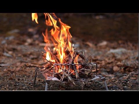 ポケットに入るソロキャンプ向きの焚き火台!秘密のグリルちゃん DOD( Q1-506)