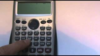 Valor absoluto con calculadora Casio fx-570 ES
