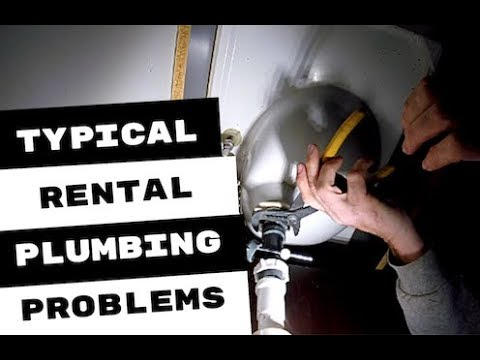 BASIC PLUMBING REPAIRS IN A RENTAL PROPERTY