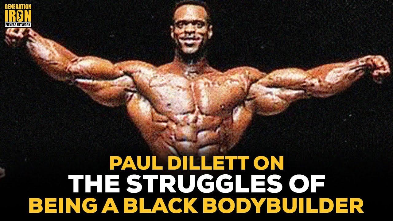 Bodybuilder black These transgender