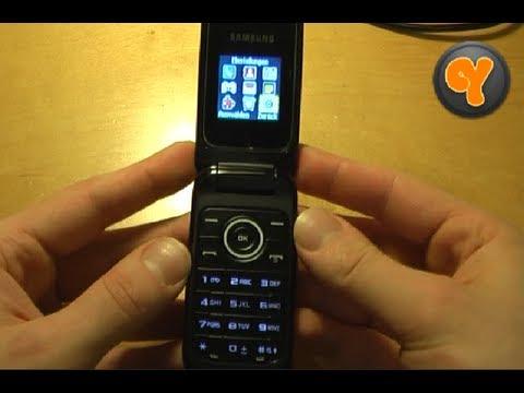 "Test: Samsung GT-E1190 Klapp Handy Dual Band 1,43"" Display"