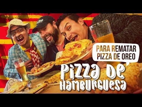 Pizza de hamburguesa | Restaurante Junior' Pizza en Bogotá | Los Insaciables