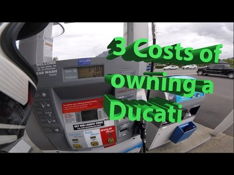 3 costs of owning a Ducati Monster 1200s