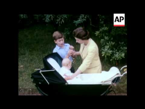 Royal Family at Braemar Gathering - In Colour - 1960