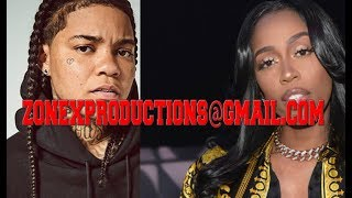 Young M.A THREATENS Kash doll after aguein on live,for not chekin in Detroit