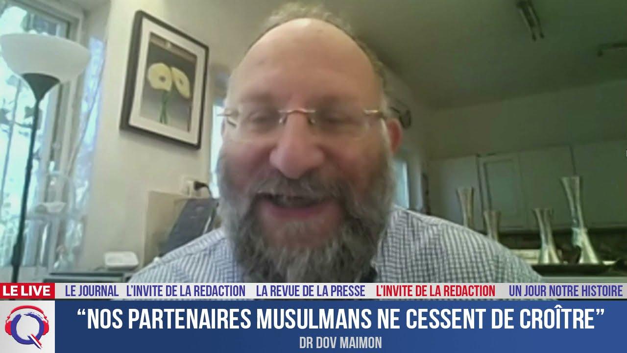 """""""Nos partenaires musulmans ne cessent de croître"""" - L'invité du 19 aout 2021"""