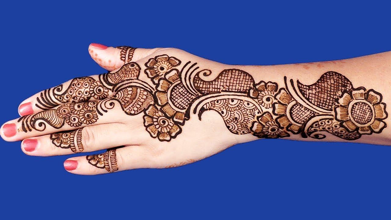 Arabic Mehndi Design 2018 Full Hand
