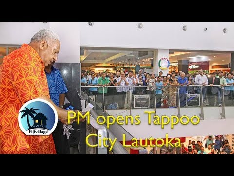 PM officially opens Tappoo City in Lautoka [20-Jan-2018]