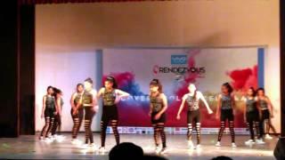 Rendezvous 2016 Studio-D(Galgotias) Dance performance