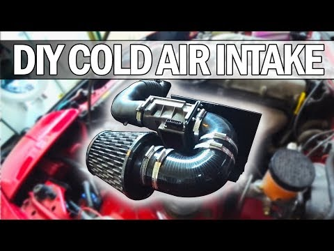 MX5 NA Miata - How to build your own Cold Air Intake and heat shield