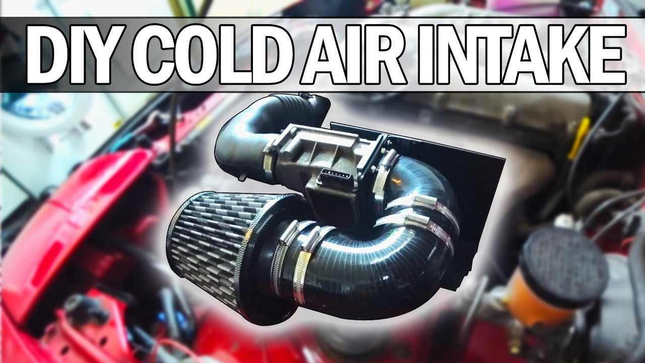 MX5 NA Miata - How to build your own Cold Air Intake and
