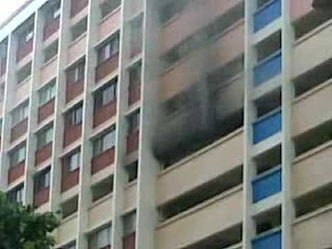 Blk 331 Bukit Batok 9th floor fire