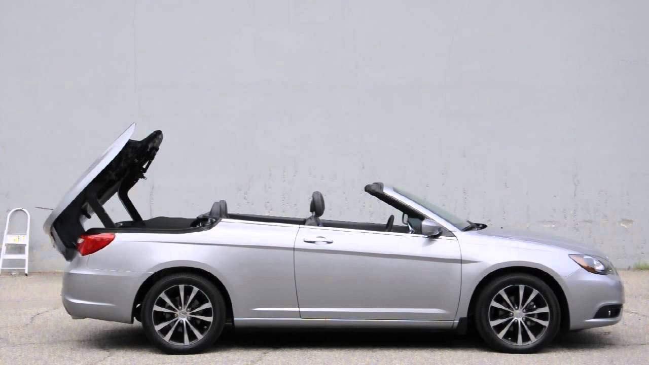 Chrysler 200s Convertible Review