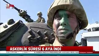 Başkan Erdoğan imzaladı! Askerlik yasası Resmi Gazete'de yayımlandı
