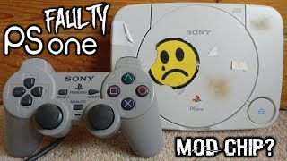 Restoring This $4 PSone! With Mod Chip Installed?