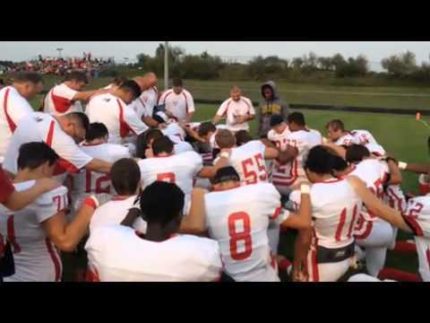 Vandercook Lake football team gets pumped up
