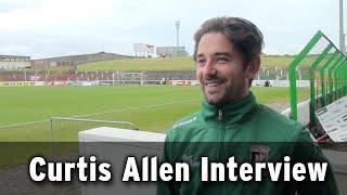 Interview - Curtis Allen Post Match vs Warrenpoint Town