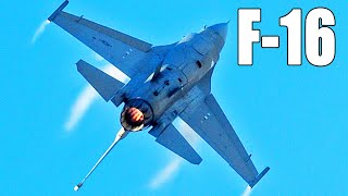 This US Aircraft Can go Mach 2 With Only one Engine !  General Dynamics F-16  History