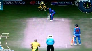Icc cricket world cup 2011 pc gameplay