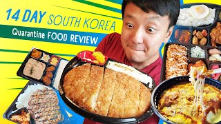 14 Day SOUTH KOREA Quarantine FOOD REVIEW & FIRST MEAL in Seoul