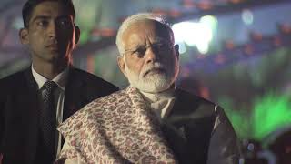 PM Modi launches light and sound show at Howrah Bridge (Rabindra Setu) in Kolkata