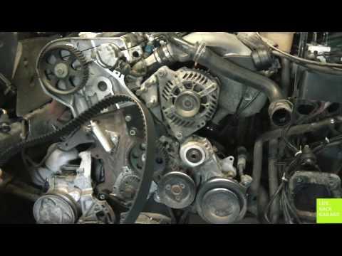 Замена ремня ГРМ VW Passat b5. Часть 2. Пошаговое видео.  Установка. Обратная сборка.