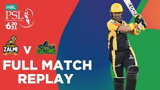 FULL MATCH REPLAY - Peshawar Zalmi vs Multan Sultans | Match 5 | HBL PSL 6