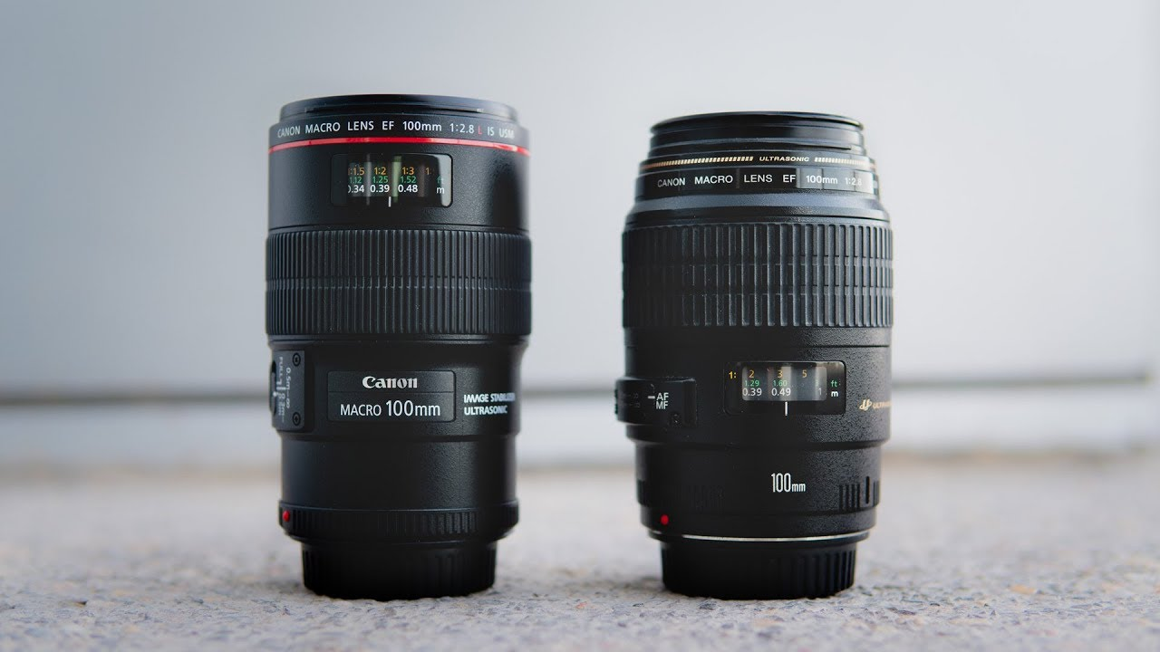 OLD vs NEW Canon 100mm f2.8 Macro - YouTube bd0d8d487a