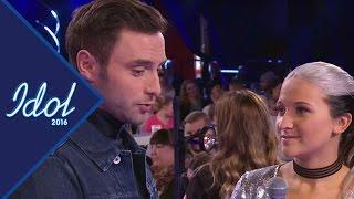 """Måns Zelmerlöw till Rebecka Karlsson: """"När gifter vi oss?"""" - Idol Sverige (TV4)"""