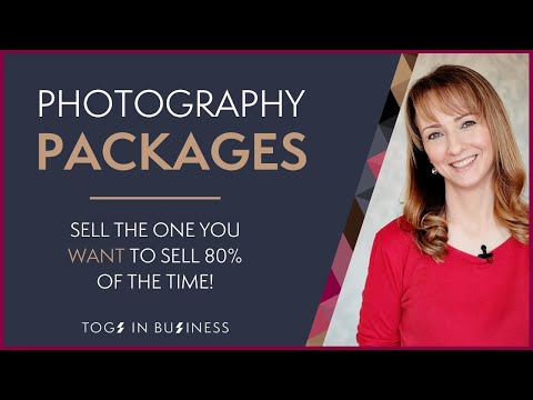 How to create photography packages so clients buy exactly what you want to sell