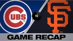 Bumgarner, Sandoval lift Giants in 13 | Cubs-Giants Game Highlights 7/23/19