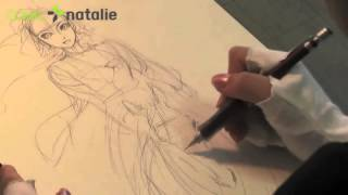 BRIDE STORIES - Kaoru Mori drawing Amira 1/5