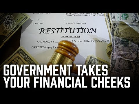 Commit a crime and get your financial cheeks taken by the Gov! - Restitution - Prison Talk 10.17