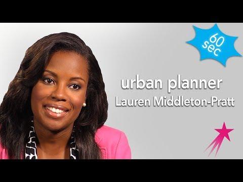 Urban Planner | Lauren Middleton-Pratt | 60 Seconds