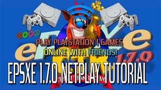 'Quick' ePSXe 1.7.0 (Playstation 1) Netplay Tutorial