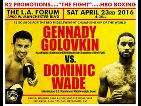 GGG vs Wade & Chocolatito vs Arroyo EsNews Boxing