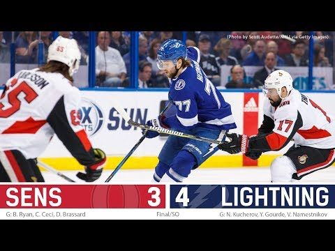 Dec 21: Sens vs. Lightning - Players Post-game