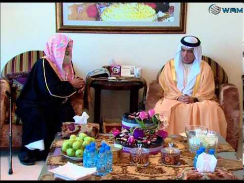 حاكم رأس الخيمة يستقبل فضيلة الشيخ عبيد الجابري ..