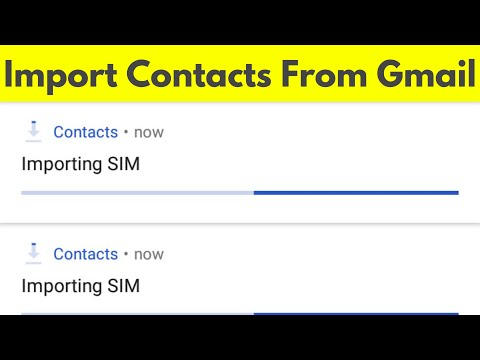 How To Import/Backup Contacts From Gmail To Android Phone & Also Sync Your All Contacts-2019